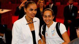 Marina Silva e Heloisa Helena