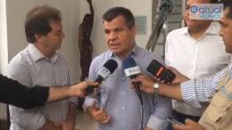 Paulinho da Força lançou candidatura de Bosco Saraiva ao senado pelo Solidariedade do Amazonas (Foto: Facebook/Reprodução)