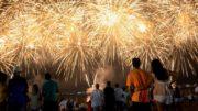 Estouro de fogos de artifício na Ponta Negra será sincronizado com música (Foto: Ingrid Anne/Semcom)