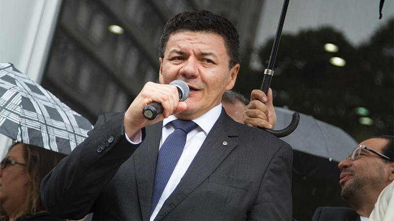 Roberto Veloso, da Ajufe, promete luta no limite das forças dos juízes para manter auxílio-moradia (Foto: Ajufe/Divulgação)