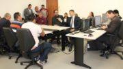 Audiência reuniu trabalhadores, empregados e representantes da Prefeitura de Manaus na Justiça do Trabalho (Foto: TRT11/Divulgação)