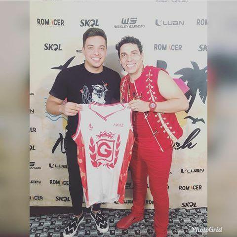Wesley Safadão e Sebastião Júnior