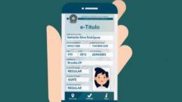 Título digital vale apenas para quem já tem cadastro biométrico na Justiça Eleitoral (Foto: Reprodução)