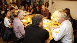 Prefeito Arthur Neto se queixou do governo federal a integrantes do CNDH (Foto: Mário Oliveira/Semcom)