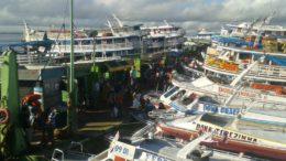 Navegação fluvial é o principal modal de transporte no Amazonas (Foto: Sindarma/Divulgação)