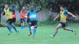 Atual campeão estadual, o Manaus FC treinou forte durante a semana para enfrentar o CDC Manicoré (Foto: Emanuel Mendes Siqueira/ Manaus FC)