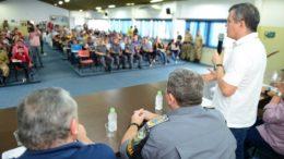 O secretário de Segurança Bosco Saraiva anunciou medidas de segurança para o carnaval em Manaus (Foto: Valdo Leão/Secom)