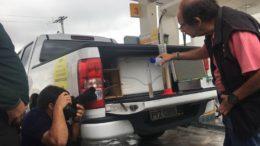 Técnicos da ANP verificaram também a qualidade da gasolina vendida nos postos de Manaus (Foto: ATUAL)