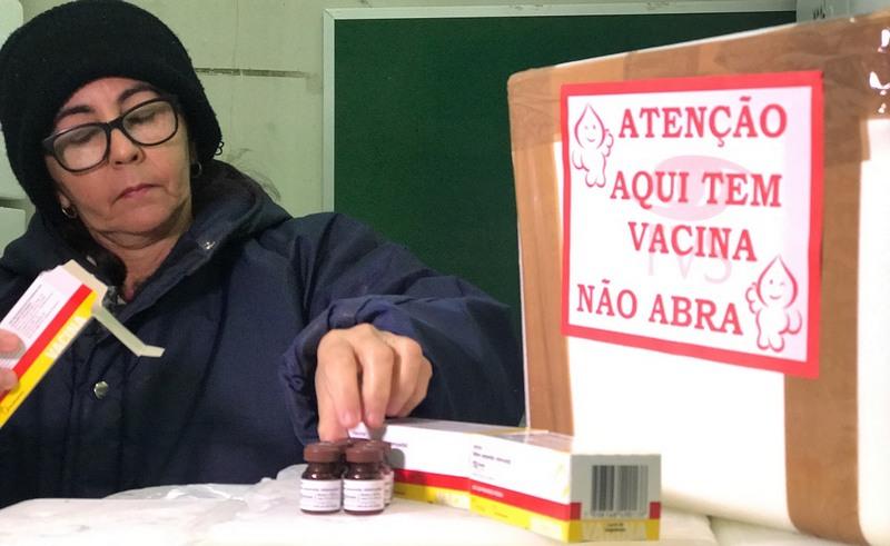 Distribuição de vacina atinge praticamente todo o Estado do Amazonas (Foto: Susam/Divulgação)