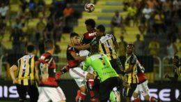 Equipe rubro-negra jogou com time sub-20 na estreia da Taça Guanabara (Foto: Gilvan de Souza/Flamengo)