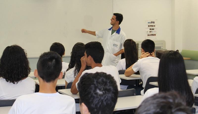 Fundação Matias Machline cursos no âmbito do ensino fundamental em Manaus (Foto: FMM/Divulgação)