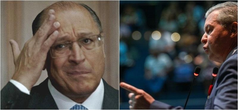Geraldo Alckmin descartou debate com Arthur Neto em São Paulo pelas prévias do PSDB para indicar candidato à Presidência da República (Foto: Wilson Dias/ABr e Alex Pazuello/Semcom)