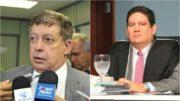 Josué Filho e Ari Moutinho irão relatar contas de Amazonino e Arthur Neto, respectivamente (Fotos: TCE/Divulgação)