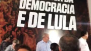 Em evento do PT, em São Paulo, Lula afirmou que não respeitará decisão da Justiça (Foto: Facebook/Reprodução)