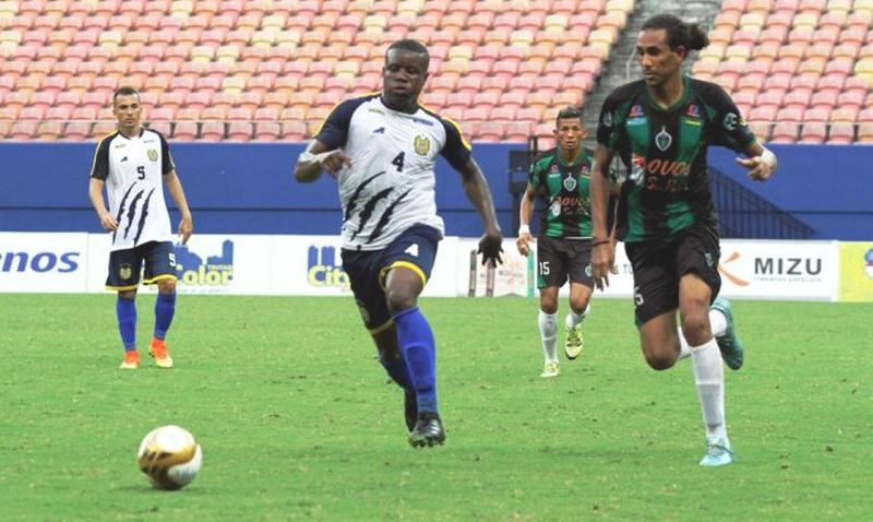 Nacional e Manaus FC reeditam final de 2017 na estreia do Barezão 2018, neste sábado (Foto: Antônio Assis/FAF/Divulgação)
