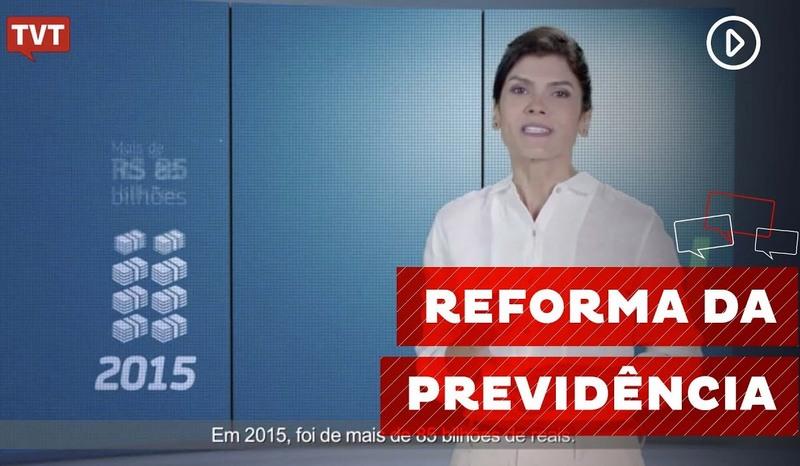 Publicidade sobre a reforma da Previdência foi suspenso pelo STF em ação da Procuradoria Geral da República (Foto: YouTube/Reprodução)
