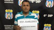 Rogério Tenório, segundo a Polícia Civil do Amazonas, é suspeito de aplicar o golpe 'chupa-cabra' em Manaus (Foto: PC-AM/Divulgação)