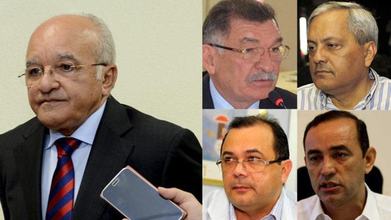 José Melo e ex-secretários