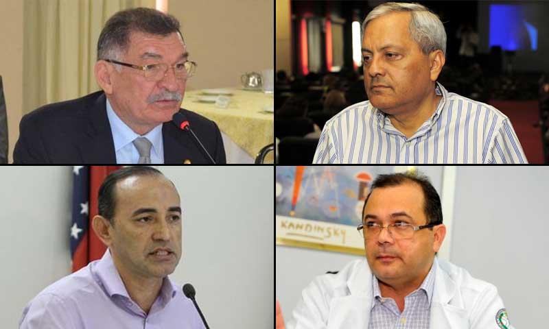ex-secretários presos
