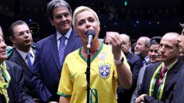 Roberto Jeferson indicou sua filha, Cristiane Brasil para o cargo de Ministra do Trabalho (Foto: Antonio Augusto/Câmara dos Deputados)