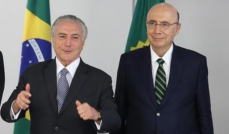 Temer anuncia apoio a Henrique Meirelles e desiste da reeleição