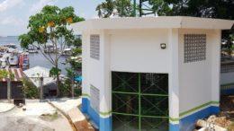 Corte no fornecimento de energia afetará unidade de captação de água da Manaus Ambiental (Foto: Arsam/Divulgação)