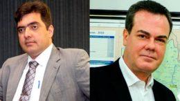 Abdala Fraxe e Henrique Oliveira