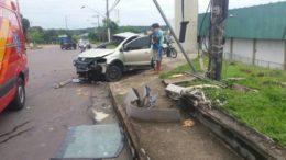 acidente no Distrito Industial