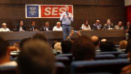 Prefeito Arthur Neto falou a empresários da indústria sobre projetos para 2018 (Foto: Mário Oliveira/Semcom)