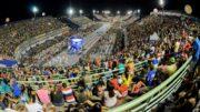 Desfile das escolas de samba começa na noite desta sexta-feira no Sambódromo (Foto: Ingrid Anne/Manauscult)