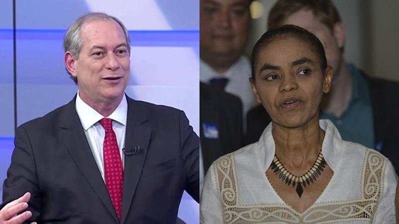 Ciro e Marina tentam romper isolamento na disputa presidencial