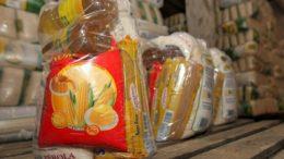 Cesta básica para indígenas tem 22 quilos de alimentos e é distribuída pela Conab Foto: ABr)