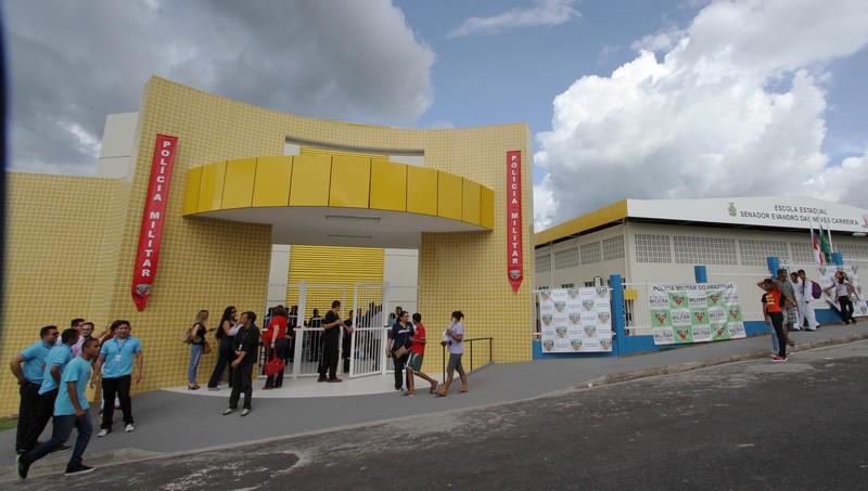 Em Manaus, Escola Evandro Carreira ainda tem 450 vagas disponíveis