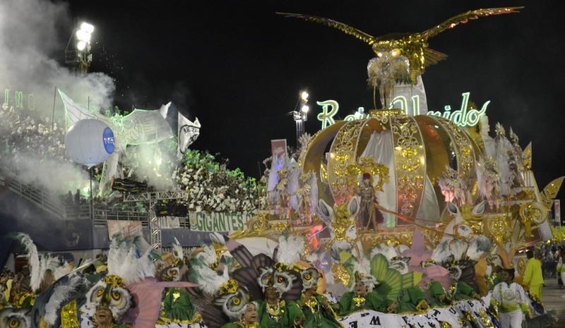 Reino Unido conquistou o tricampeonato do carnaval em Manaus com enredo 'Ao mestre com carinho' (Foto: ATUAL)