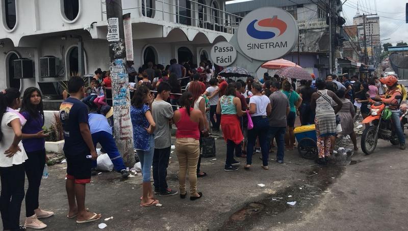 Horário de atendimento muda em postos do Sinetram em Manaus