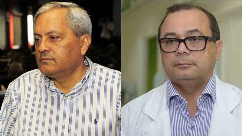 Os ex-secretários Evandro Melo e Pedro Elias voltaram a ser presos pela Polícia Federal na manhã desta sexta-feira (Foto: ATUAL)