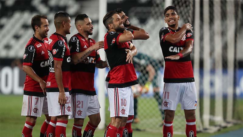 54f1c2b2ed Flamengo deixa escapar vitória na estreia da Copa Libertadores