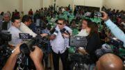 Secretário Lourenço Braga anunciou concurso com lançamento de edital para março (Foto: Eduardo Cavalcante/Seduc)