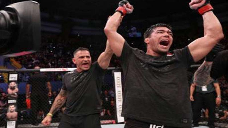 Lyoto Machida volta a triunfar no UFC, desta vez lutando em casa, em Bel~em, no Parã (FotoÇ UFC;Reprodução)