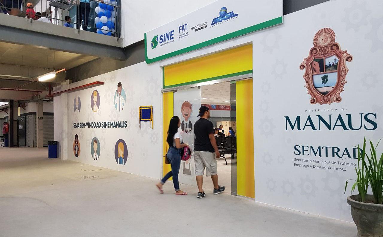 Sine Manaus oferece dez vagas de emprego nesta segunda-feira