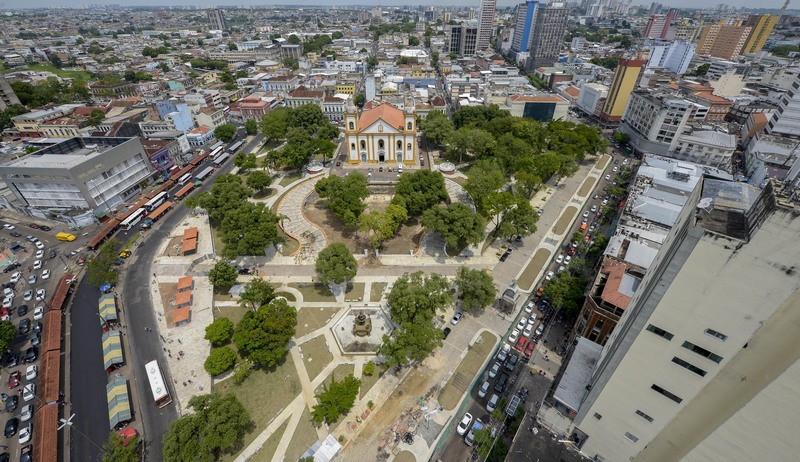 Manaus está entre as cidades do Norte com maior concentração de eleitores e Amazonas forma grupo de Estados que pode ultrapassar o Sul (Foto: Semcom/Divulgação)