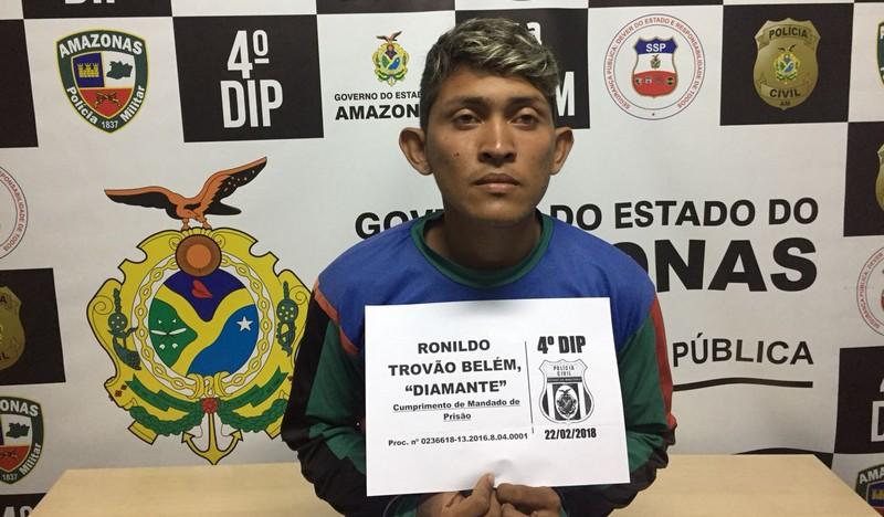 Preso homem envolvido em morte de líder comunitária em Manaus
