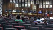 Em segunda audiência promovida pela OAB, Seduc e Polícia Militar se comprometerem a fornecer material escolar e fardamento de graça nos colégios da PM (Foto: OAB/Divulgação)
