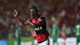 Vinícius Júnior fez um dos gols do triunfo rubro-negro na conquista da Taça Guanabara (Foto: Gilvan de Souza/Flamengo)
