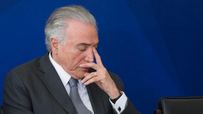 Em Brasília, pastores recebem Temer e prometem orar pelo presidente