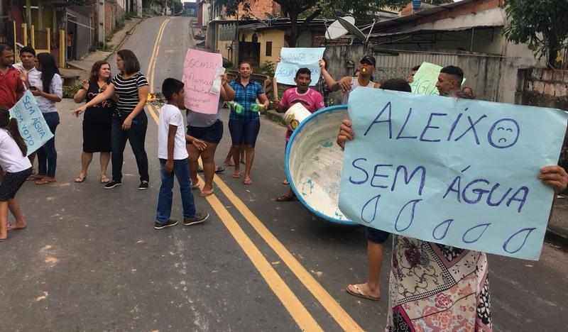 Arsam aciona Manaus Ambiental para solucionar problema no bairro Aleixo