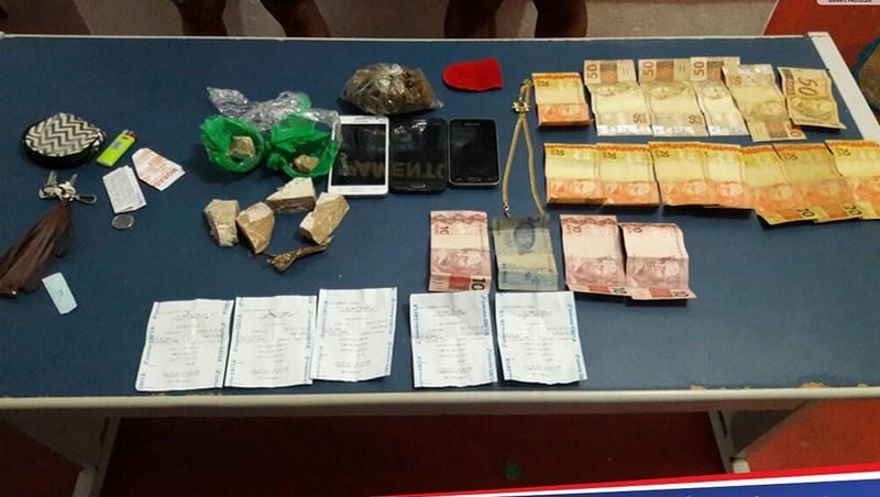 Polícia prende dois homens por tráfico de drogas em Anamã