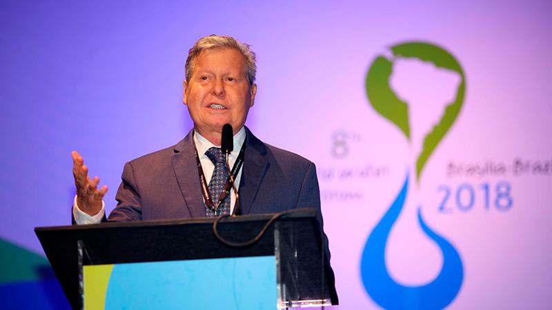 Arthur defende a universalização dos recursos hídricos em Fórum Mundial da Água
