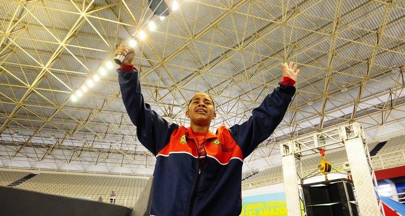 Layane Miranda receberá prêmio Brasil Olímpico nesta quarta-feira, no Rio de Janeiro (Foto: Mauro Neto/Sejel)