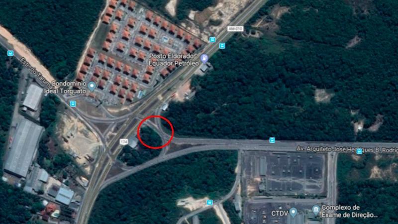 Trânsito na rotatória do Detran será parcialmente interditado a partir desta quarta-feira